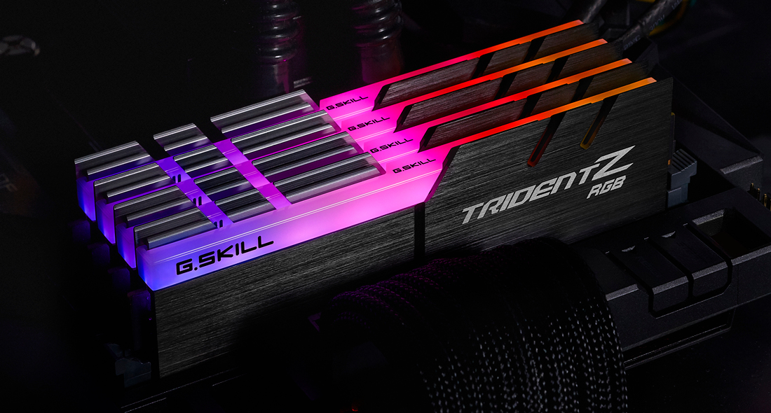 G.Skill TridentZ RGB Series - DDR4 - 128 GB: 4 32 GB