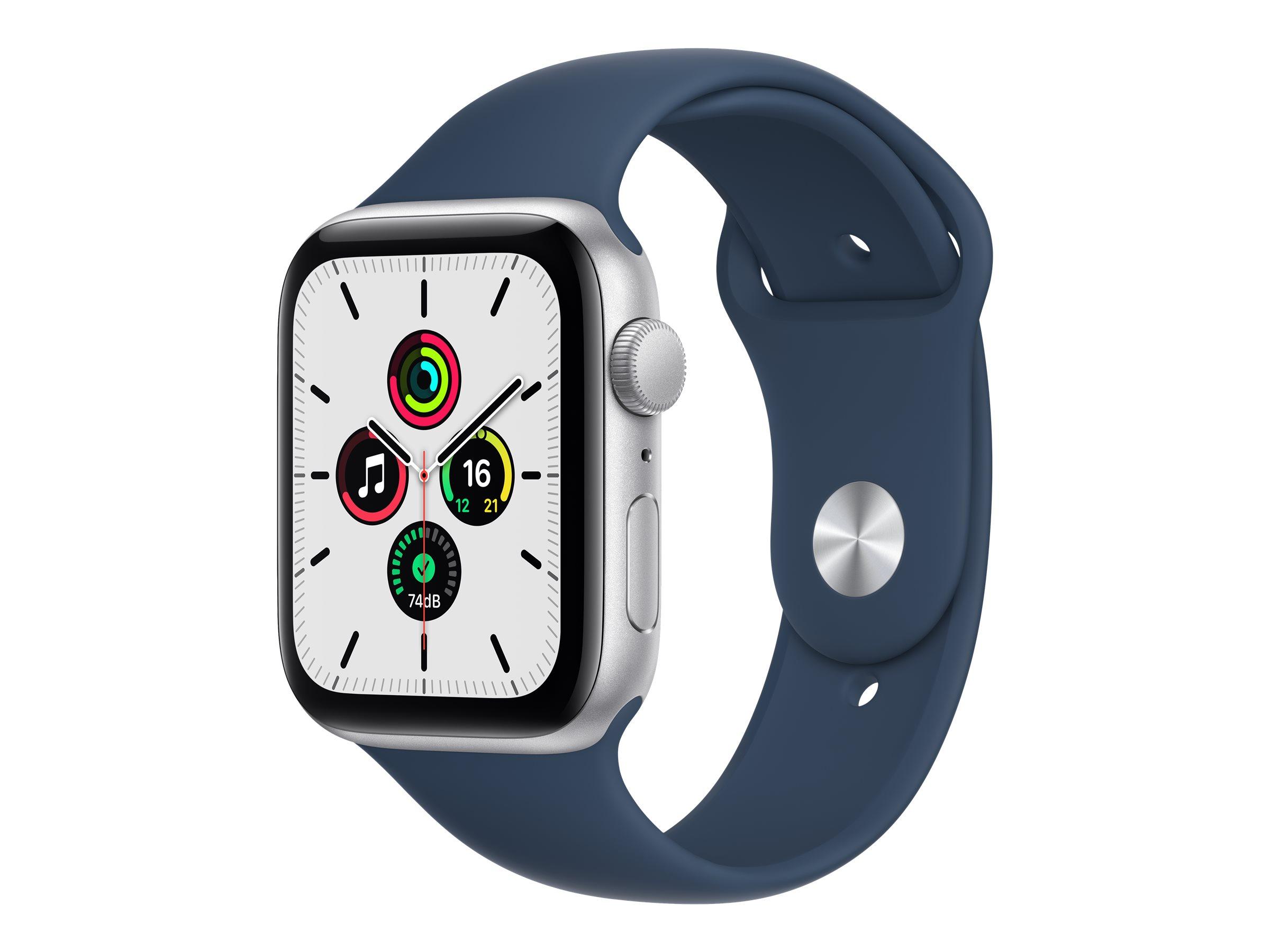 Apple Watch SE (GPS) - 44 mm - Aluminium, Silber
