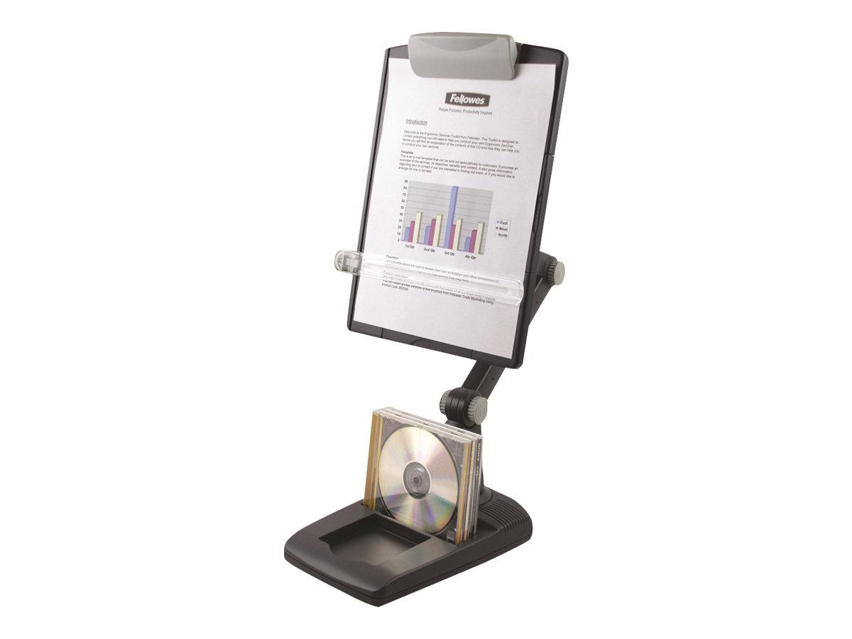 Fellowes Flex Arm - Vorlagenhalter - 90° verstellbar - graphite