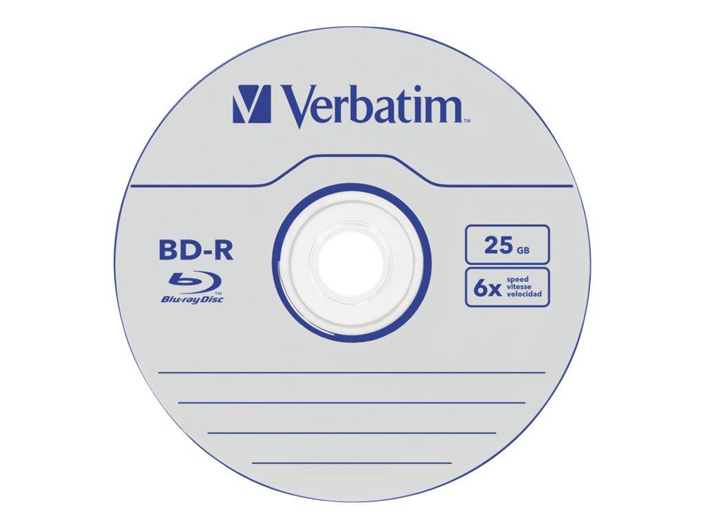 Verbatim DataLife - 50 x BD-R - 25 GB 6x - Spindel