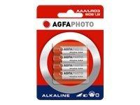 AgfaPhoto Batterie 4 x AAA-Typ - Alkalisch