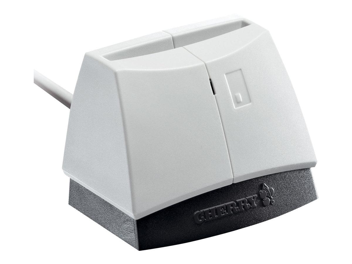 Cherry SmartTerminal ST-1144 - SmartCard-Leser - USB 2.0 - weiß (Oberteil)