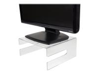 LCD/CRT-Monitorstandarderhöher (Akryl). - Transparent - 25 kg - 290 mm - 250 mm - 134 mm - 260 mm