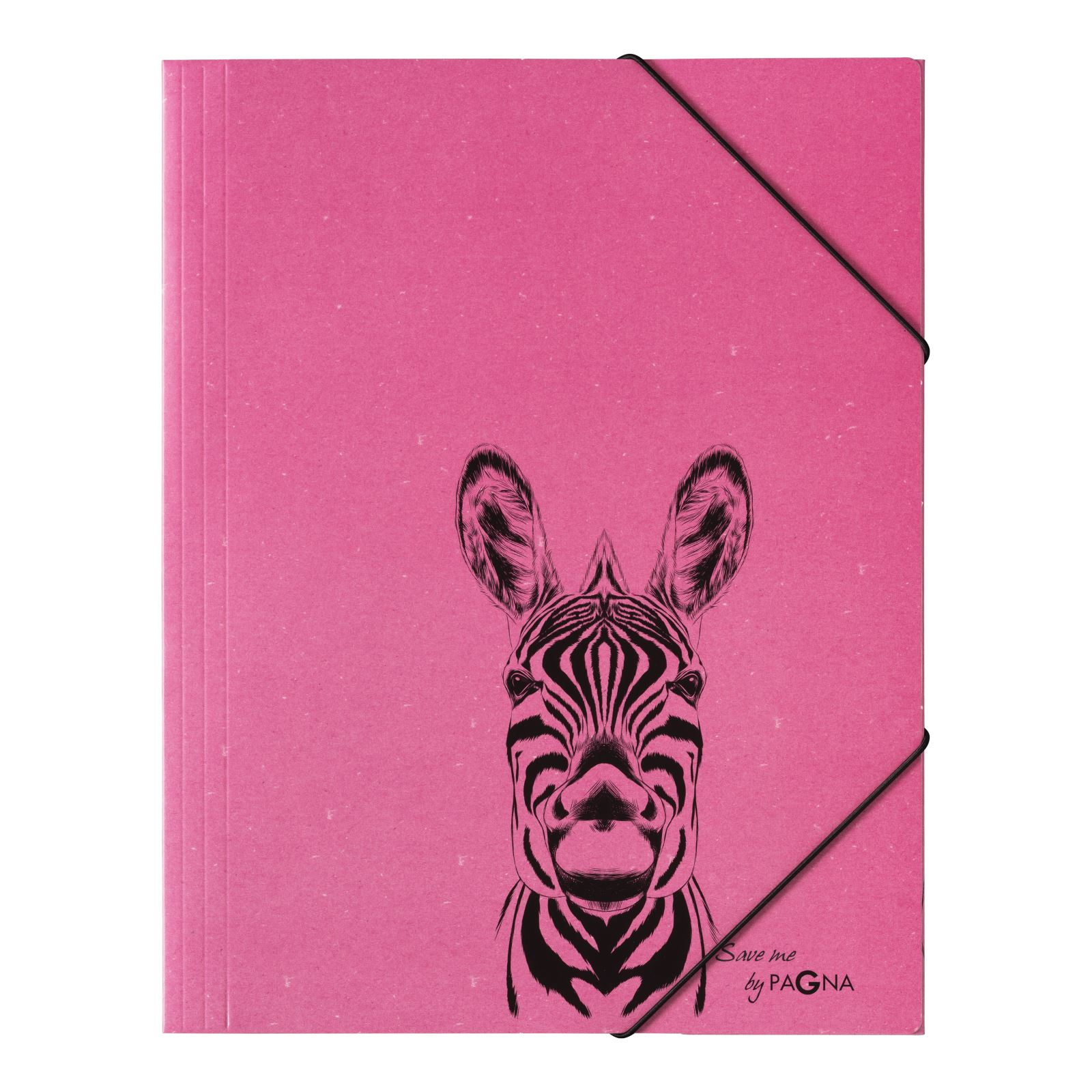Pagna 21658-34 - Sammelmappe - Eckspanner - DIN A4 - Zebra Motiv
