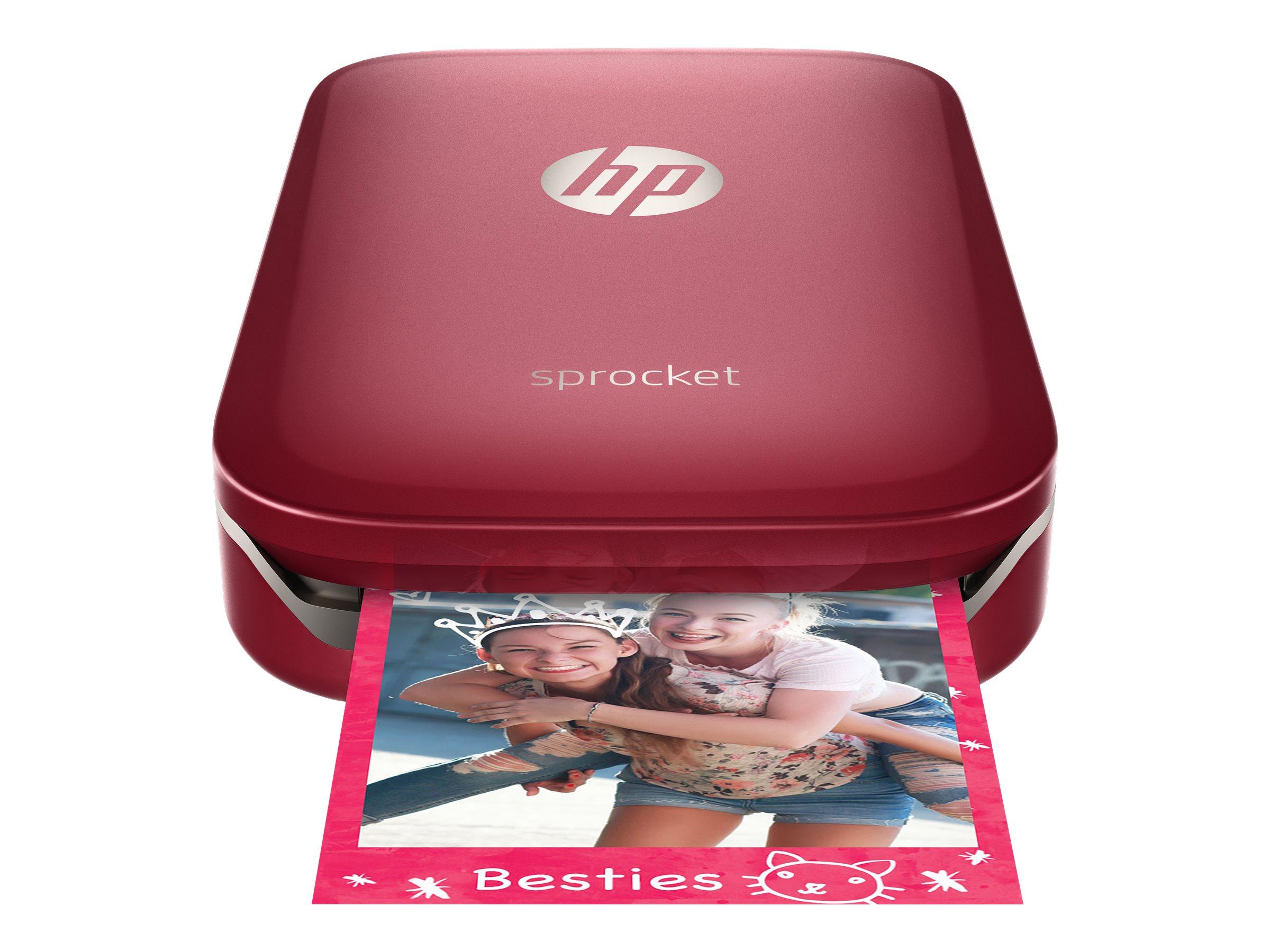 HP Sprocket Photo - Drucker - Farbe - Zink - 50 x 76 mm bis zu 0.67 Min./Seite (Farbe)