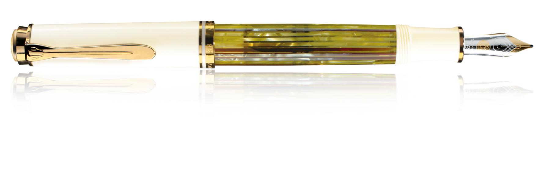 Pelikan Souverän M400 - Gold - Weiß - Blau - Gold - 1 Stück(e)