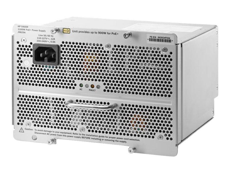 HPE Aruba 5400R 1100W PoE+ zl2 Power Supply (J9829A#ABB)