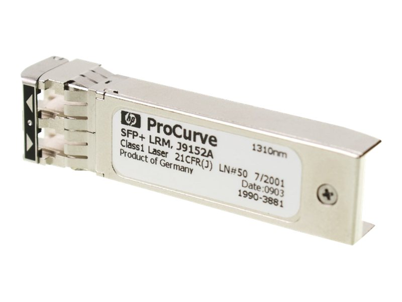 HP X132 10G SFP+ LC LRM Transceiver (J9152A) - REFURB