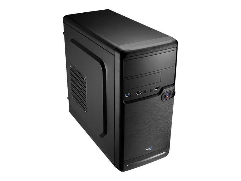AEROCOOL ADVANCED TECHNOLOGIES AeroCool PGS Q Series QS-182 - Tower - micro ATX - ohne Netzteil (ATX / PS/2)