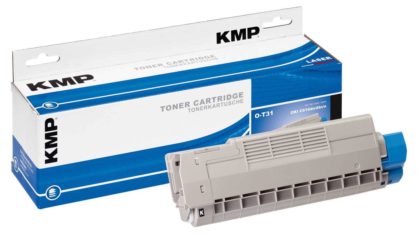 KMP O-T31 - Schwarz - compatible - Tonerpatrone
