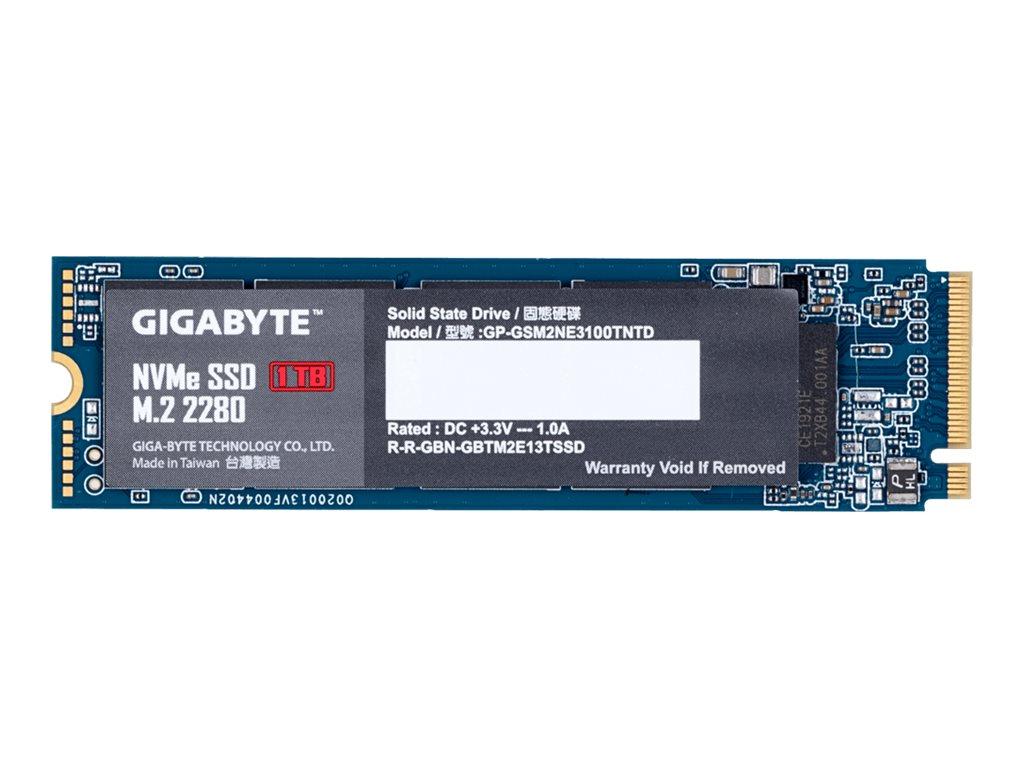 Gigabyte 1 TB SSD - intern - M.2 2280 - PCI Express 3.0 x4 (NVMe)