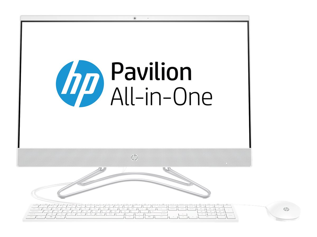 HP 24-f0057ng - All-in-One (Komplettl?sung) - 1 x Core i5 8250U / 1.6 GHz - RAM 8 GB - SSD 256 GB - NVMe, TLC - DVD-Writ