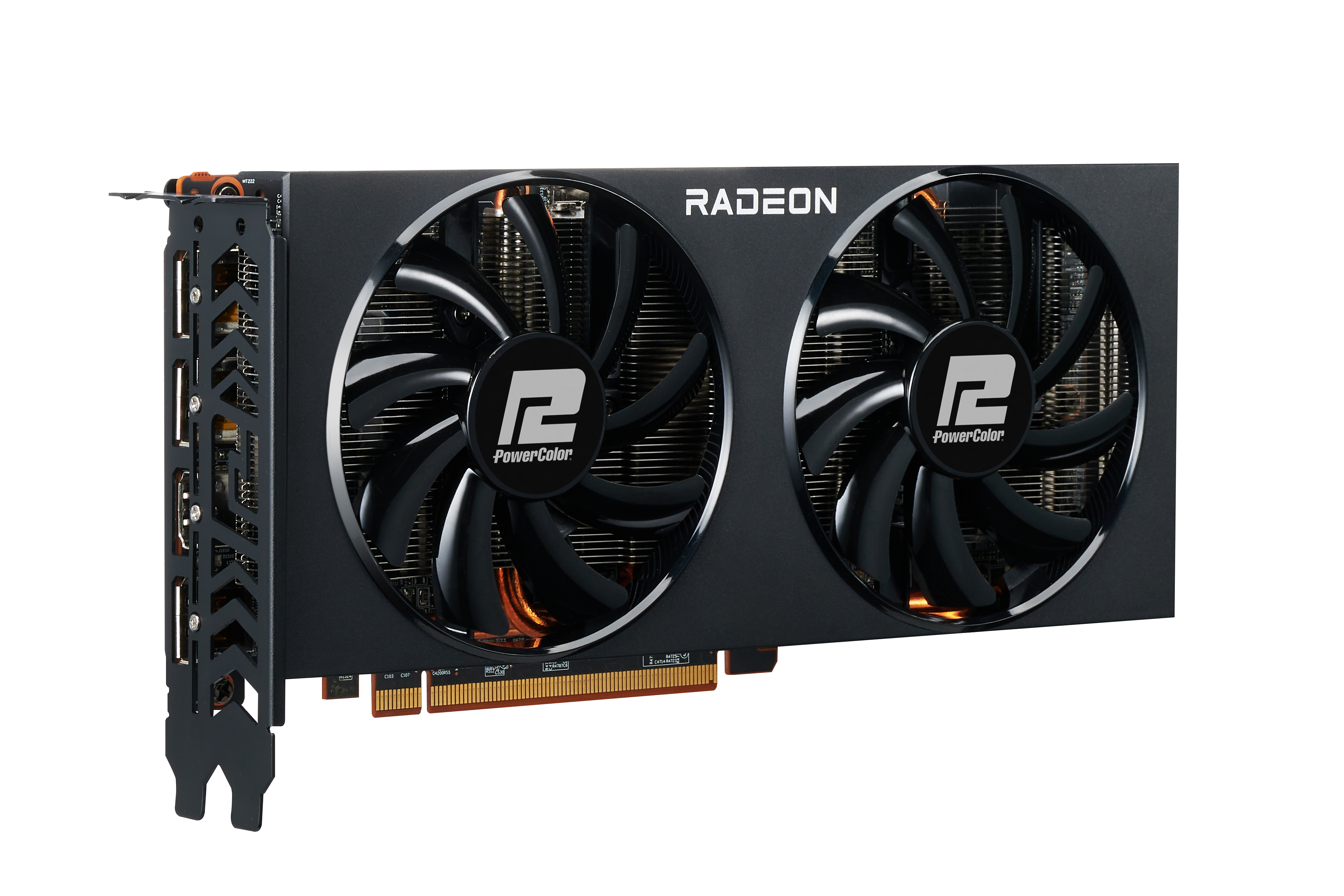 PowerColor AXRX 6700XT 12GBD6-3DH - Radeon RX 6700 XT - 12 GB - GDDR6 - 192 Bit - PCI Express 4.0 - 2 Lüfter