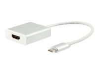 133452 Kabelschnittstellen-/adapter USB Type C HDMI Weiß