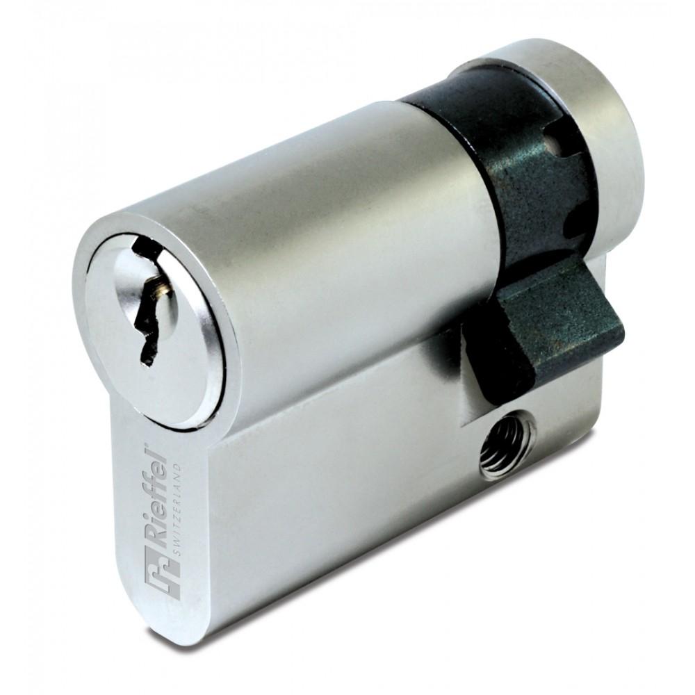 Rieffel PZ6 10/30 - Euro-Profilzylinder - Edelstahl - 3 Stück(e)