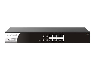 Draytek VigorSwitch P1085 - Switch - Smart - 8 x 10/100/1000 (PoE+)