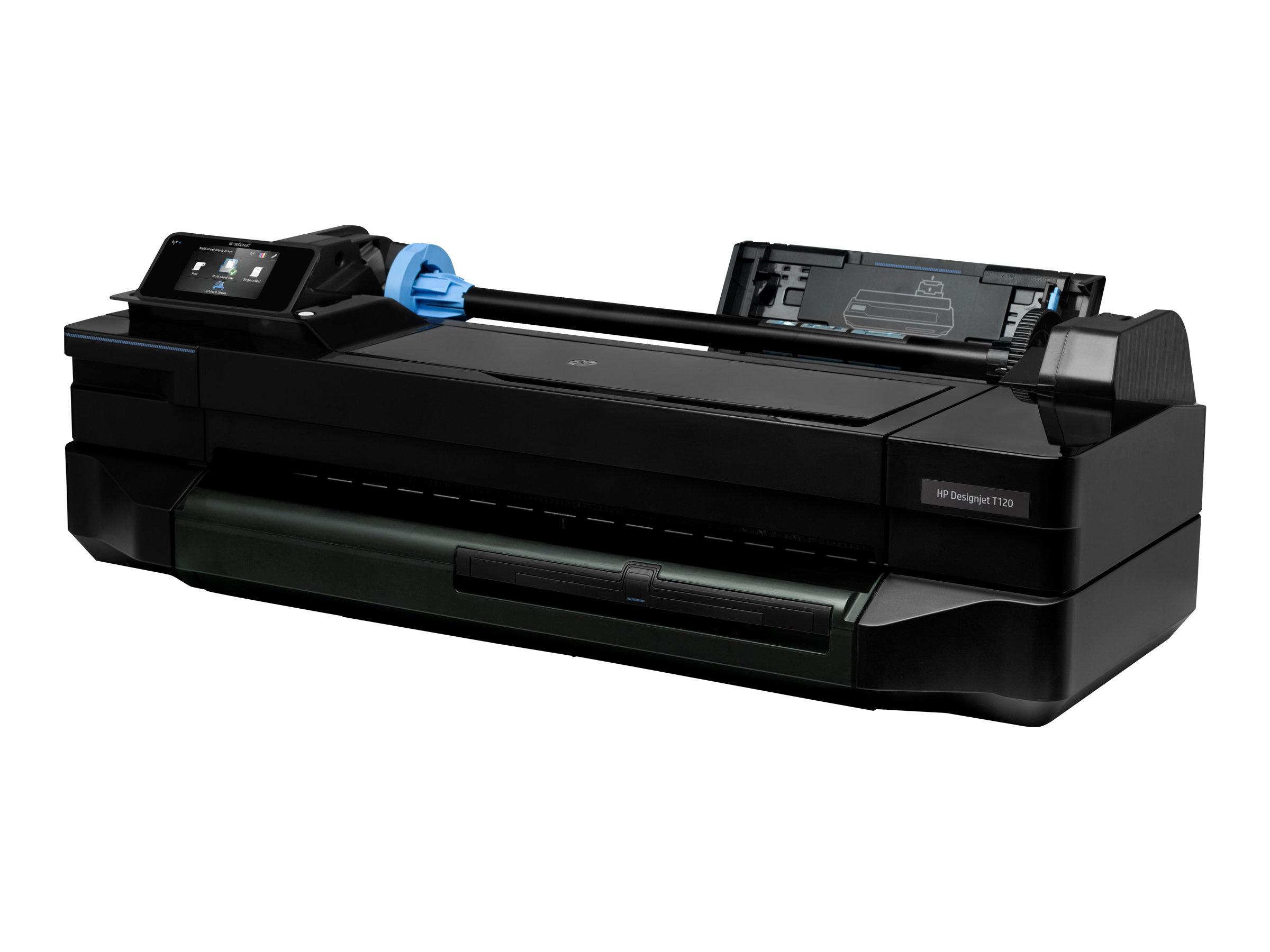 "HP DesignJet T120 ePrinter - 610 mm (24"") Großformatdrucker"