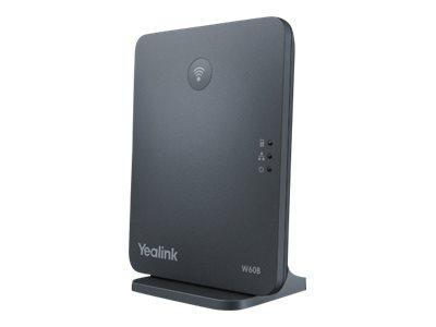 Yealink W60B - Basisstation für schnurloses Telefon/VoIP-Telefon mit Rufnummernanzeige
