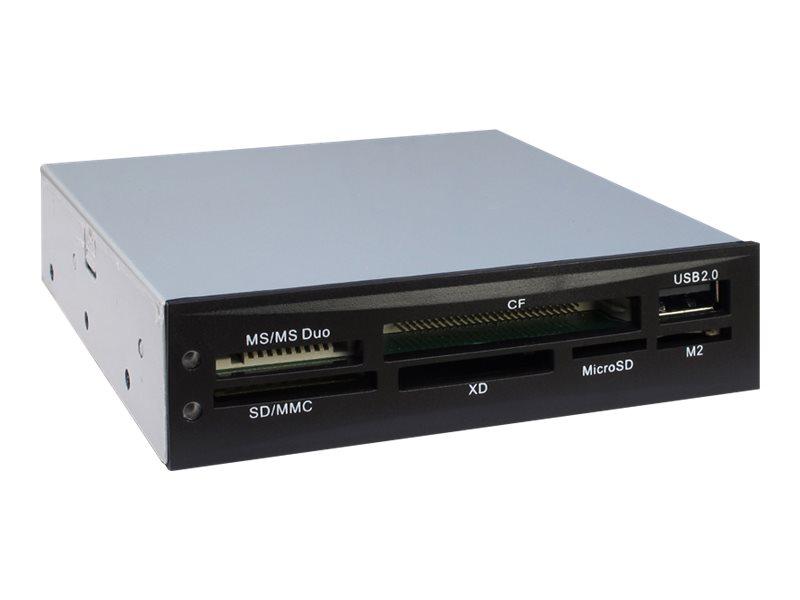 Inter-Tech Nitrox Multi Card Reader CI-02 - Kartenleser - 8,9 cm (3,5 Zoll)