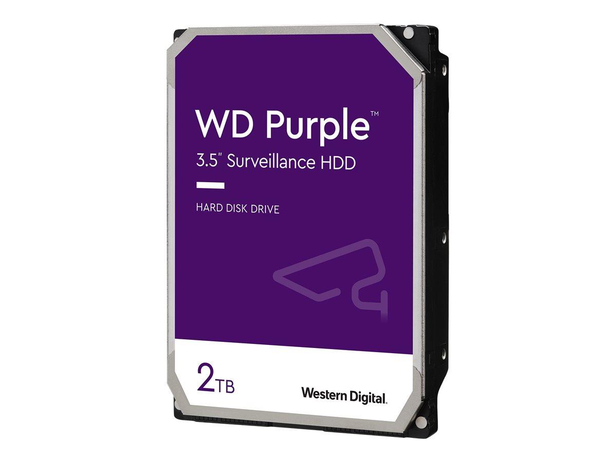 "WD Purple Surveillance Hard Drive WD20PURZ - Festplatte - 2 TB - intern - 3.5"" (8.9 cm)"