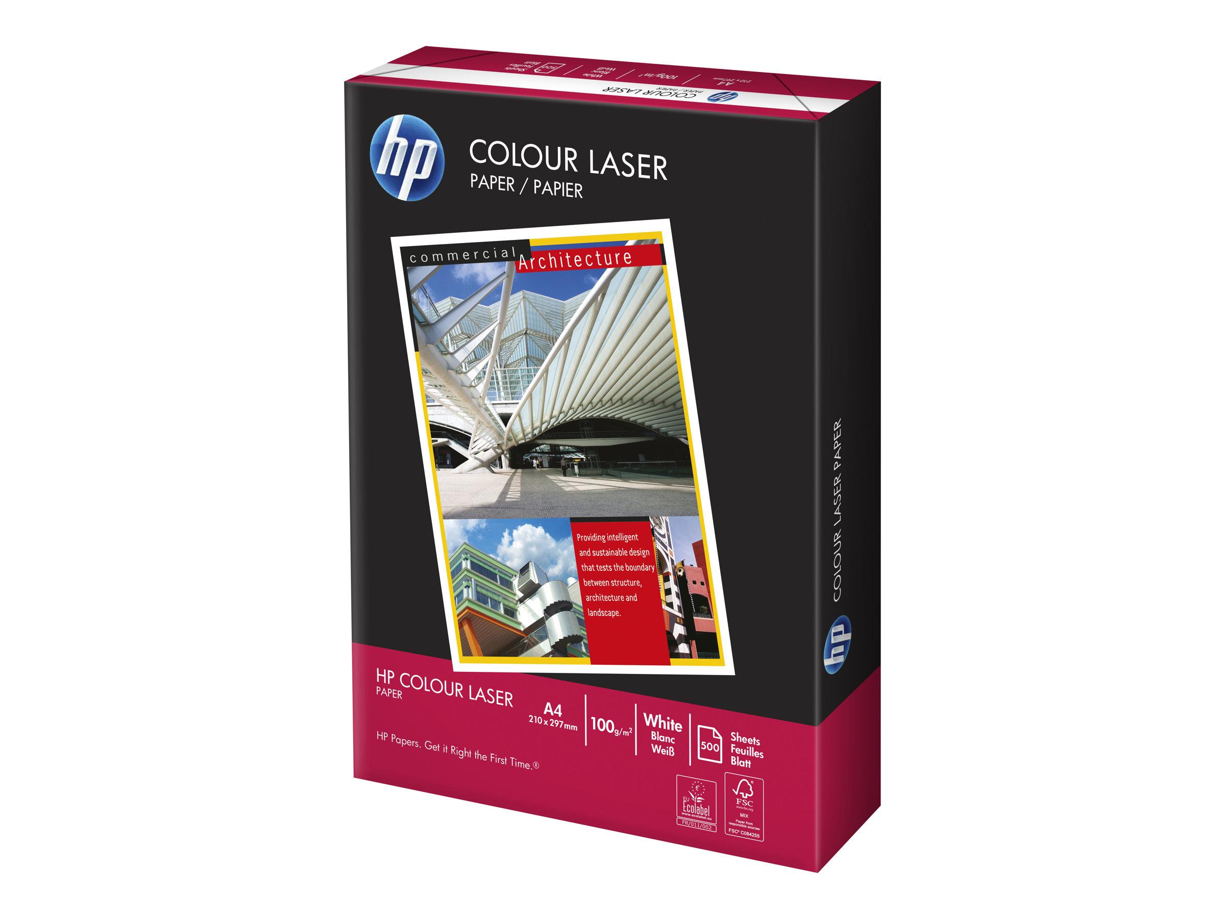 HP Color Laser Paper - A4 (210 x 297 mm) - 100 g/m²