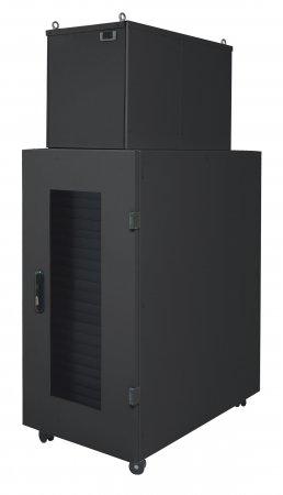 Intellinet Micro Data Center Freestanding rack 36U 2000kg Schwarz Rack