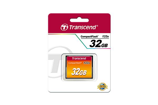 Transcend-Flash-memory-card-32-GB-133x-CompactFlash-TS32GCF133 miniatura 5