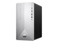 Pavilion 595-p0568ng 3,4 GHz AMD Ryzen 5 2600 Silber Mini Tower PC