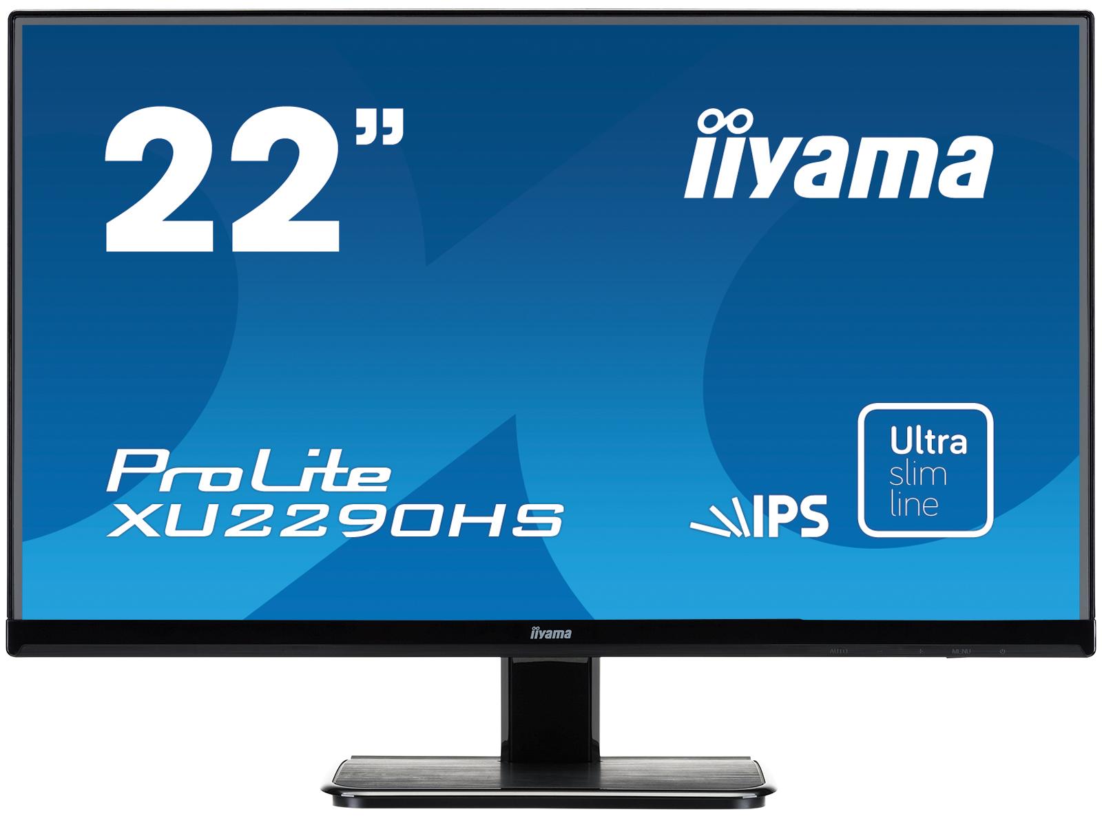 Iiyama ProLite XU2290HS-B1 21.5Zoll Full HD AH-IPS Matt Schwarz Computerbildschirm