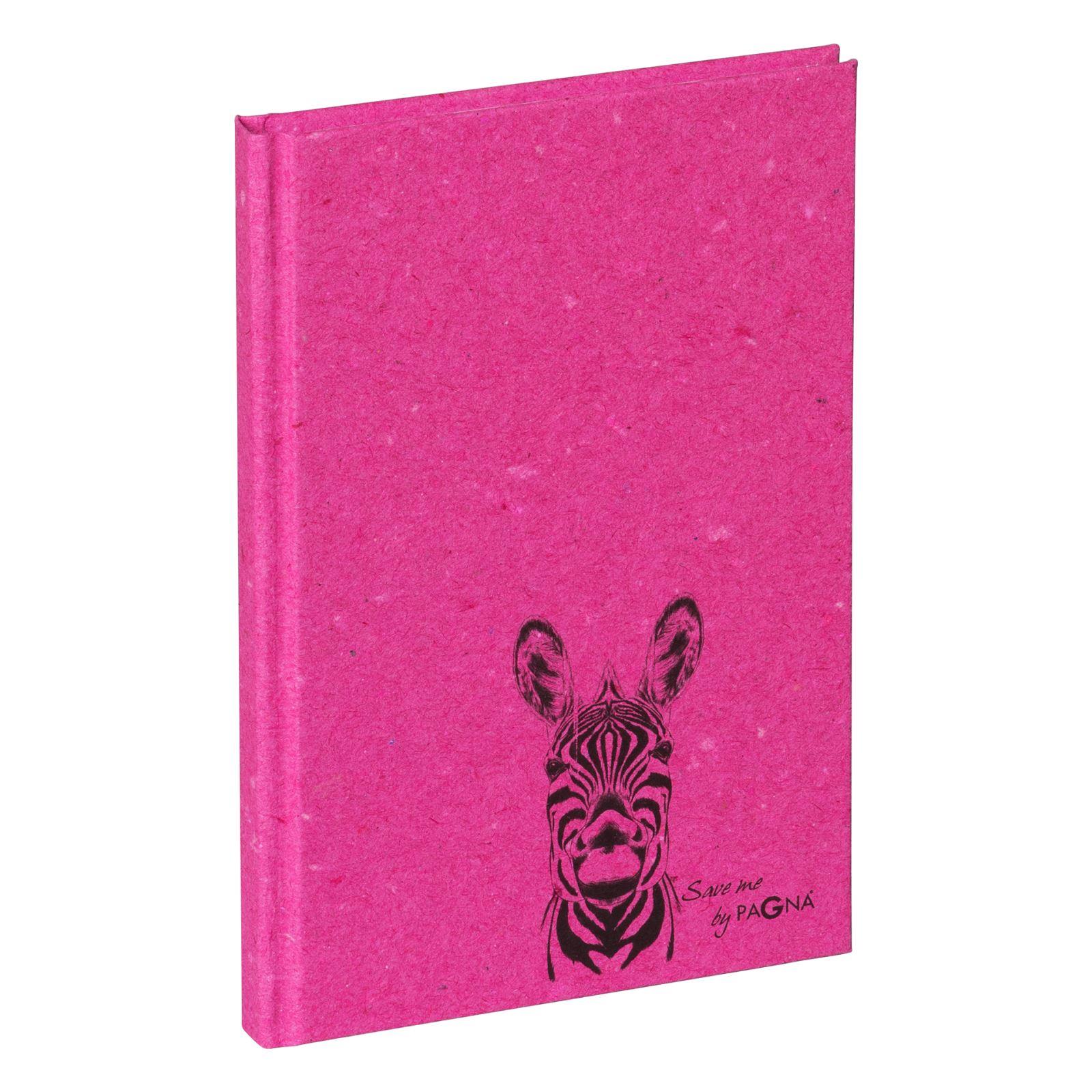 Pagna 26051-34 - Notizbuch - Hardcover - DIN A6 - Zebra Motiv