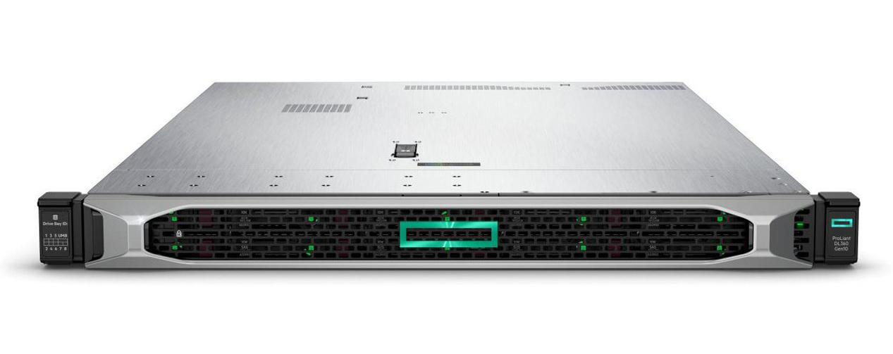 HP Enterprise ProLiant DL360 Gen10 - 2,1 GHz - 4110 - 16 GB - DDR4-SDRAM - 500 W - Rack (1U)