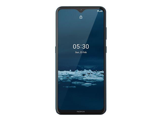"Nokia 5.3 - Android One - Smartphone - Dual-SIM - 4G LTE - 64 GB - microSD slot - 6.55"" - RAM 4 GB (8 MP Vorderkamera)"