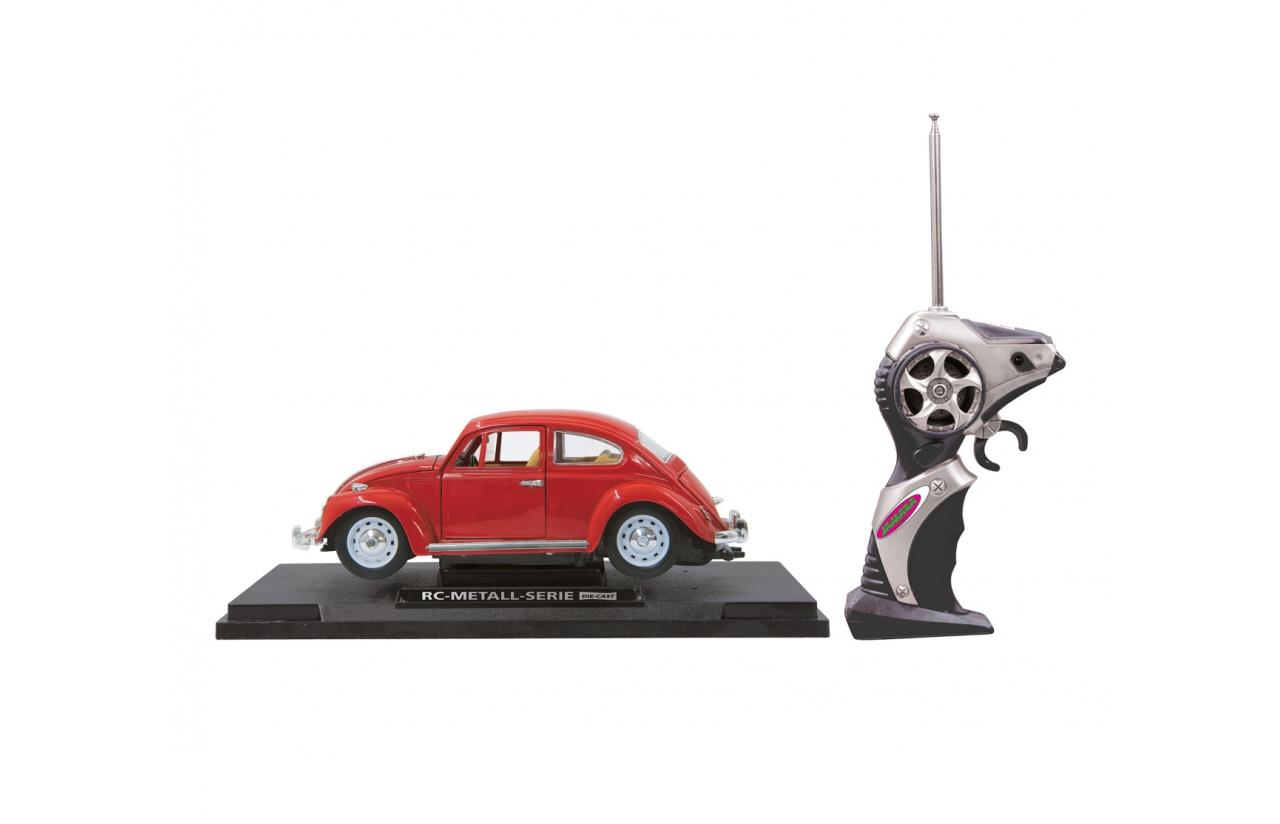 JAMARA VW Käfer - Elektromotor - 1:18 - Betriebsbereit (RTR) - Rot - Metall - 8 Jahr(e)