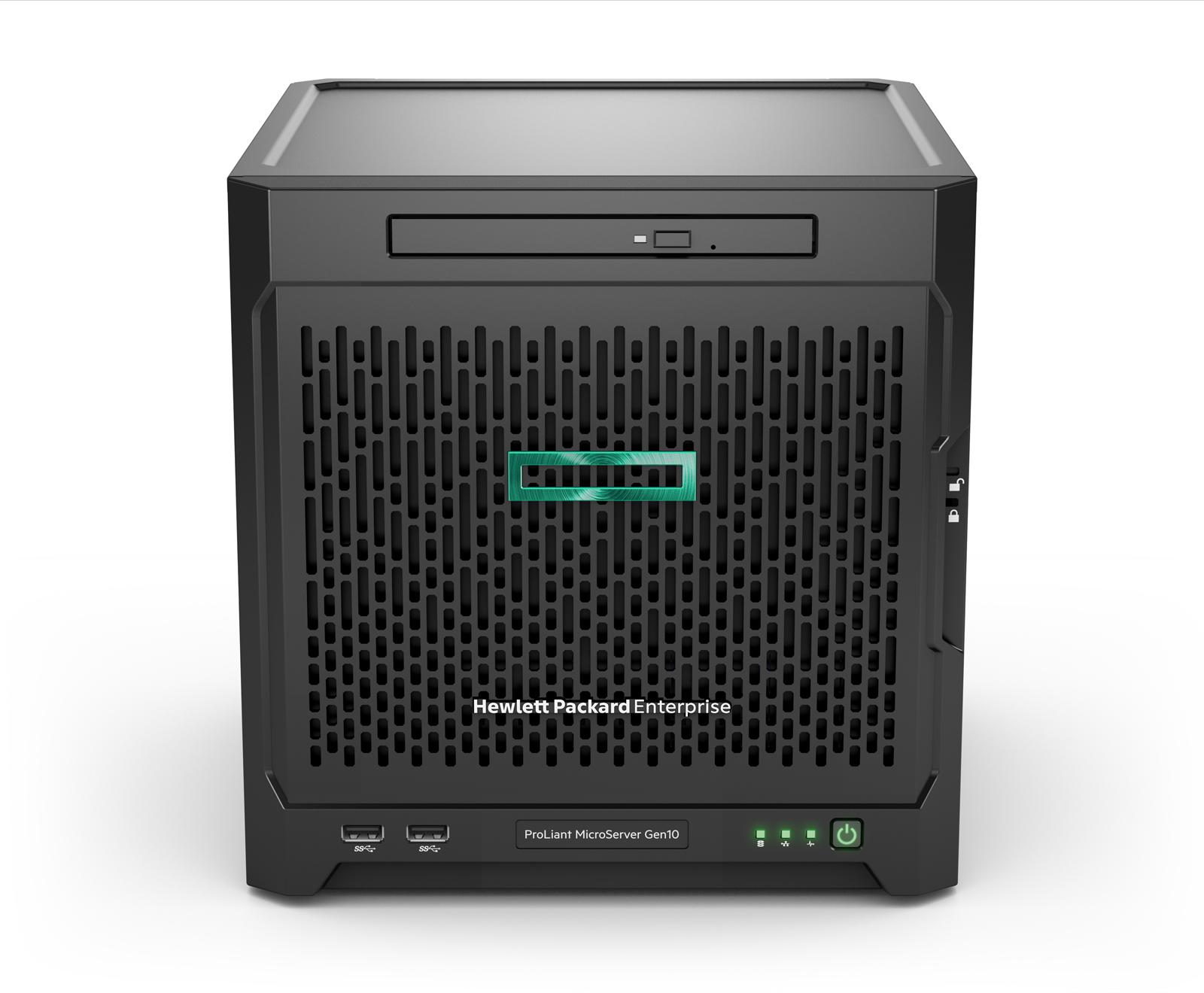 HP Enterprise ProLiant MicroServer Gen10 - 1,8 GHz - X3418 - 8 GB - DDR4-SDRAM - 200 W - Ultra Micro Tower