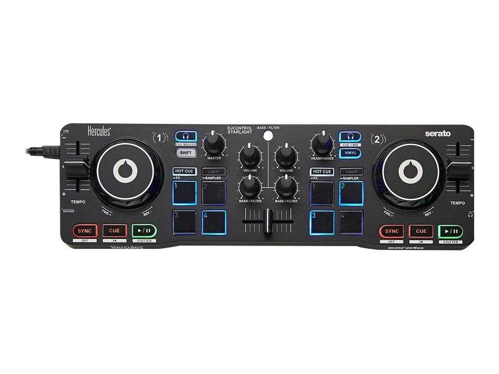 Hercules DJ Control Starlight - Starter Kit