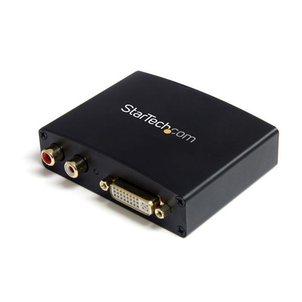StarTech.com DVI auf HDMI Konverter mit Audio - 1920x1080 - (Buchse/Buchse)