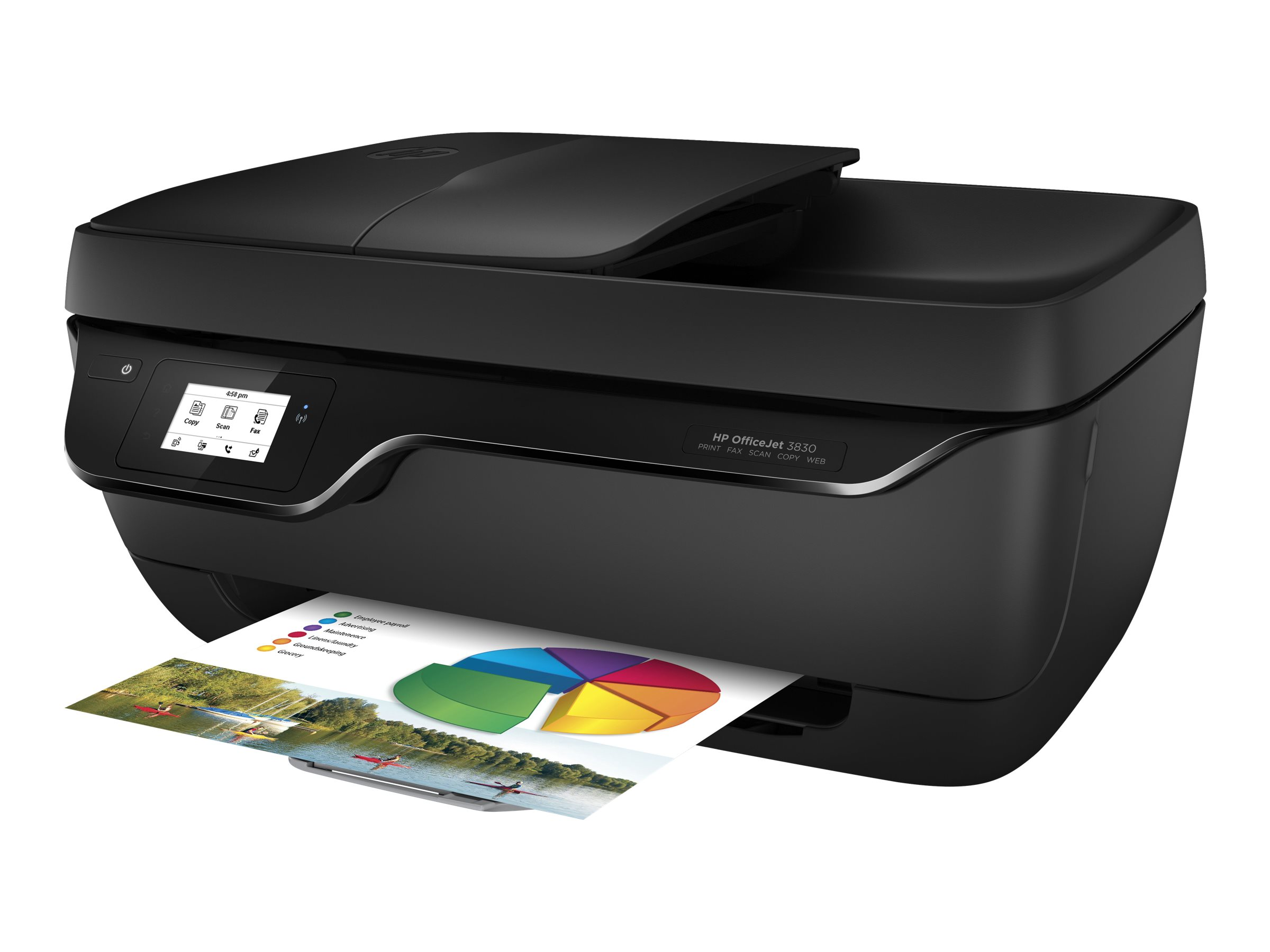HP Officejet 3833 All-in-One - Multifunktionsdrucker - Farbe - Tintenstrahl - 216 x 297 mm (Original)
