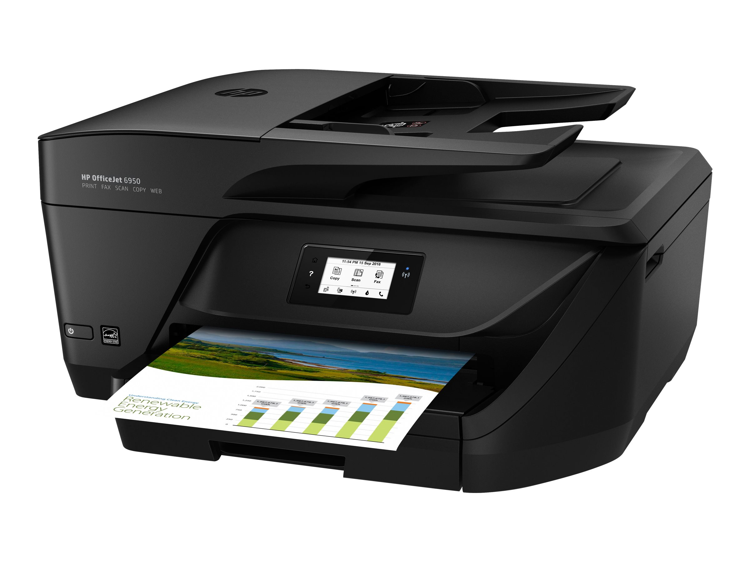 HP Officejet 6950 All-in-One - Multifunktionsdrucker - Farbe - Tintenstrahl - Legal (216 x 356 mm)/