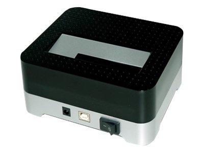 """Conceptronic CHDDOCK 2,5/3,5 inch Hard Disk Docking Station USB 2.0 - Speicher-Controller mit Ein/Aus-Schalter - 2,5"""" / 3,5"""" gemeinsam genutzt (6,4 cm/8,9 cm gemeinsam genutzt)"""