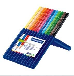 STAEDTLER Farbstifte ergosoft 12er Box - Mehrfarbig - 12 Stück(e)