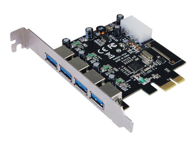 Longshine LCS-6380-4 - USB-Adapter - PCIe 2.0