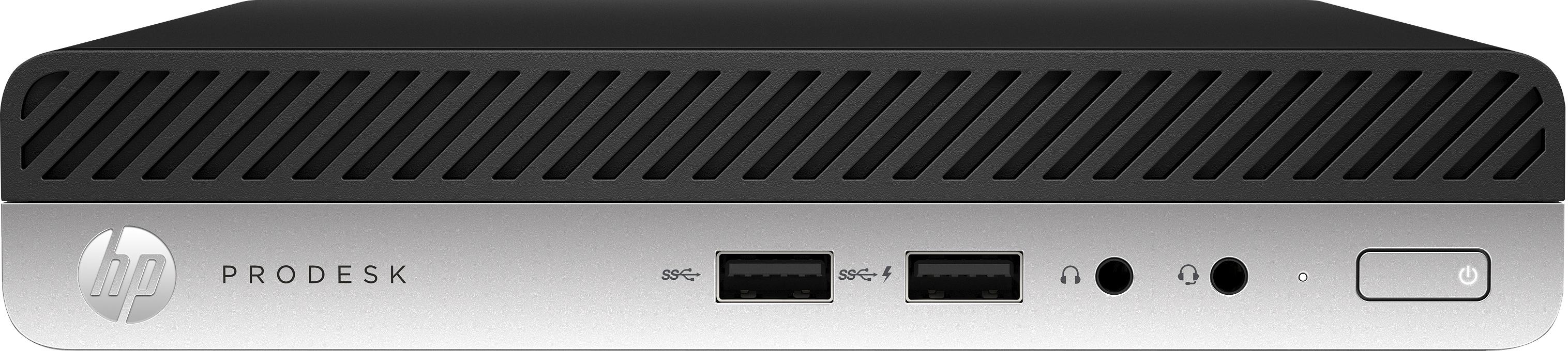 HP ProDesk 400 G5 - Komplettsystem - Core i5 2,2 GHz - RAM: 8 GB DDR4 - HDD: 256 GB NVMe, Serial ATA - UHD Graphics 600
