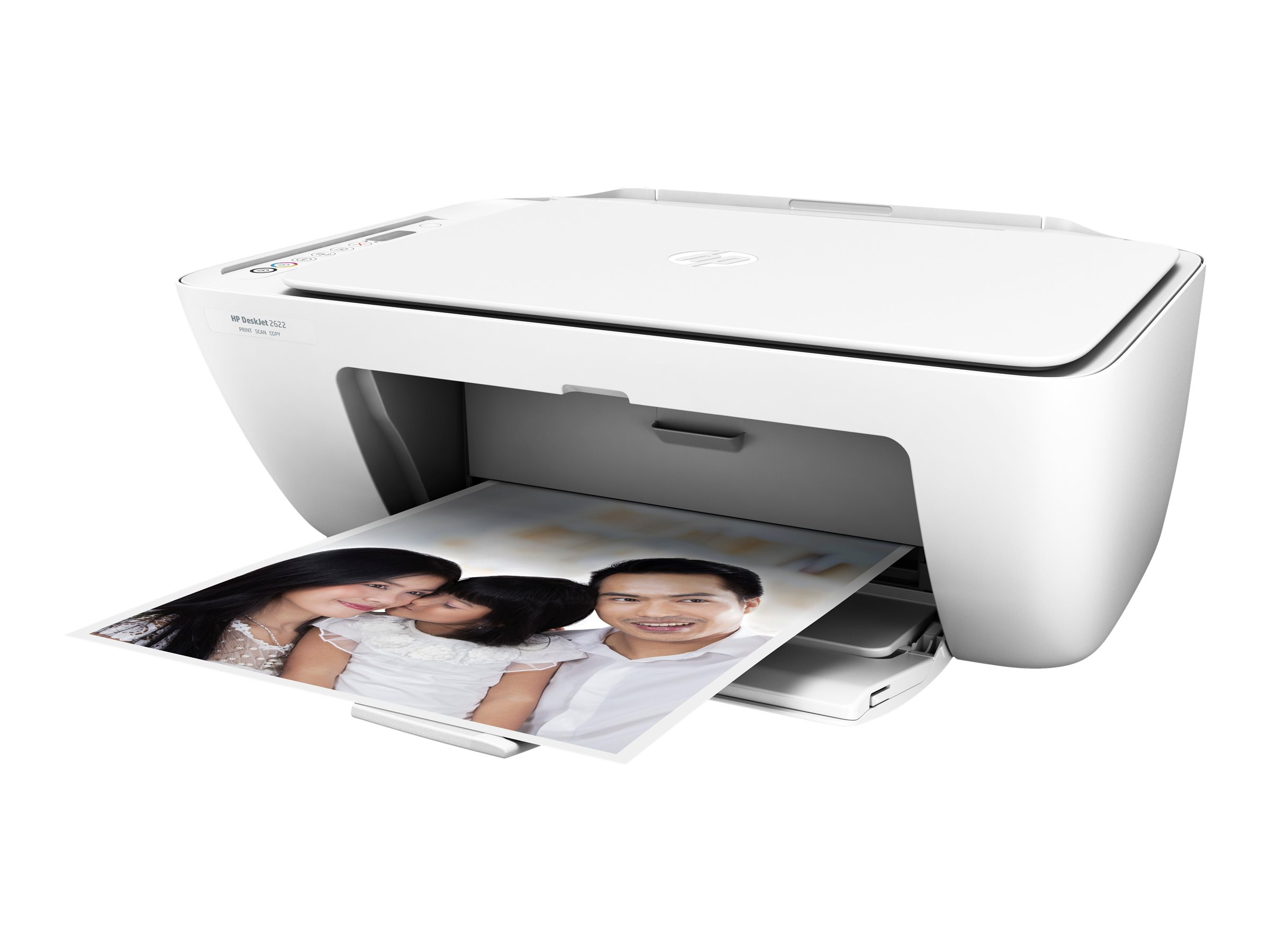 HP Deskjet 2622 All-in-One - Multifunktionsdrucker - Farbe - Tintenstrahl - 216 x 297 mm (Original)
