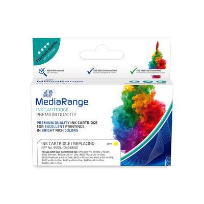 MEDIARANGE MRHP951YXL - Compatible - Gelb - HP - 1 Stück(e) - CN048AE