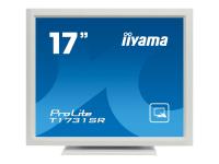 ProLite T1731SR-1 17Zoll 1280 x 1024Pixel Tisch Weiß Touchscreen-Monitor