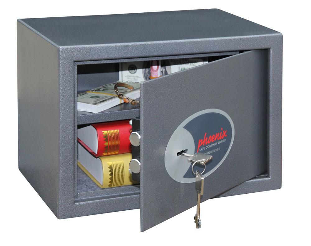 Phoenix Safe Phoenix SS0802K - Graphit - Schlüssel - 17 l - Stahl - Boden / Wand - 350 mm