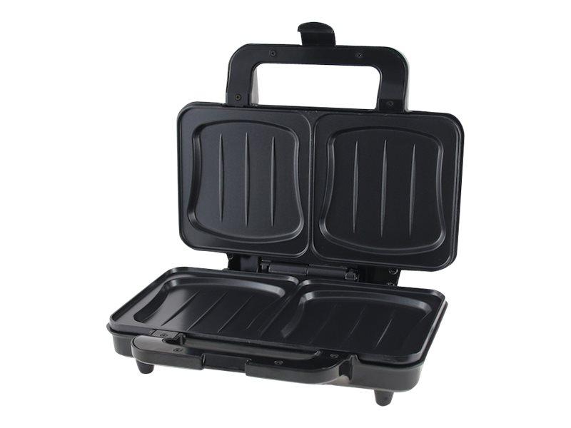 Emerio ST-109562 - Sandwichmaker - 900 W - rostfreier