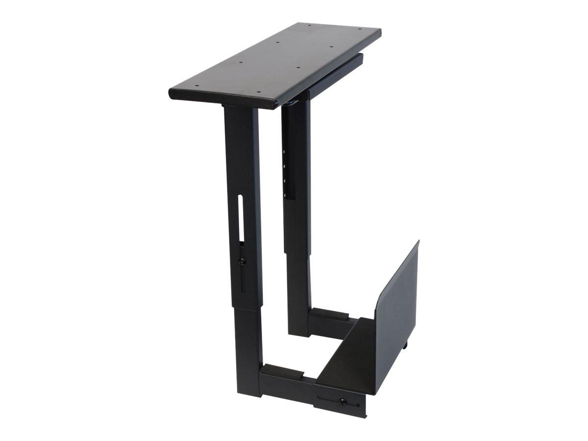 Lindy Sliding Under Desk PC Holder - Montageset