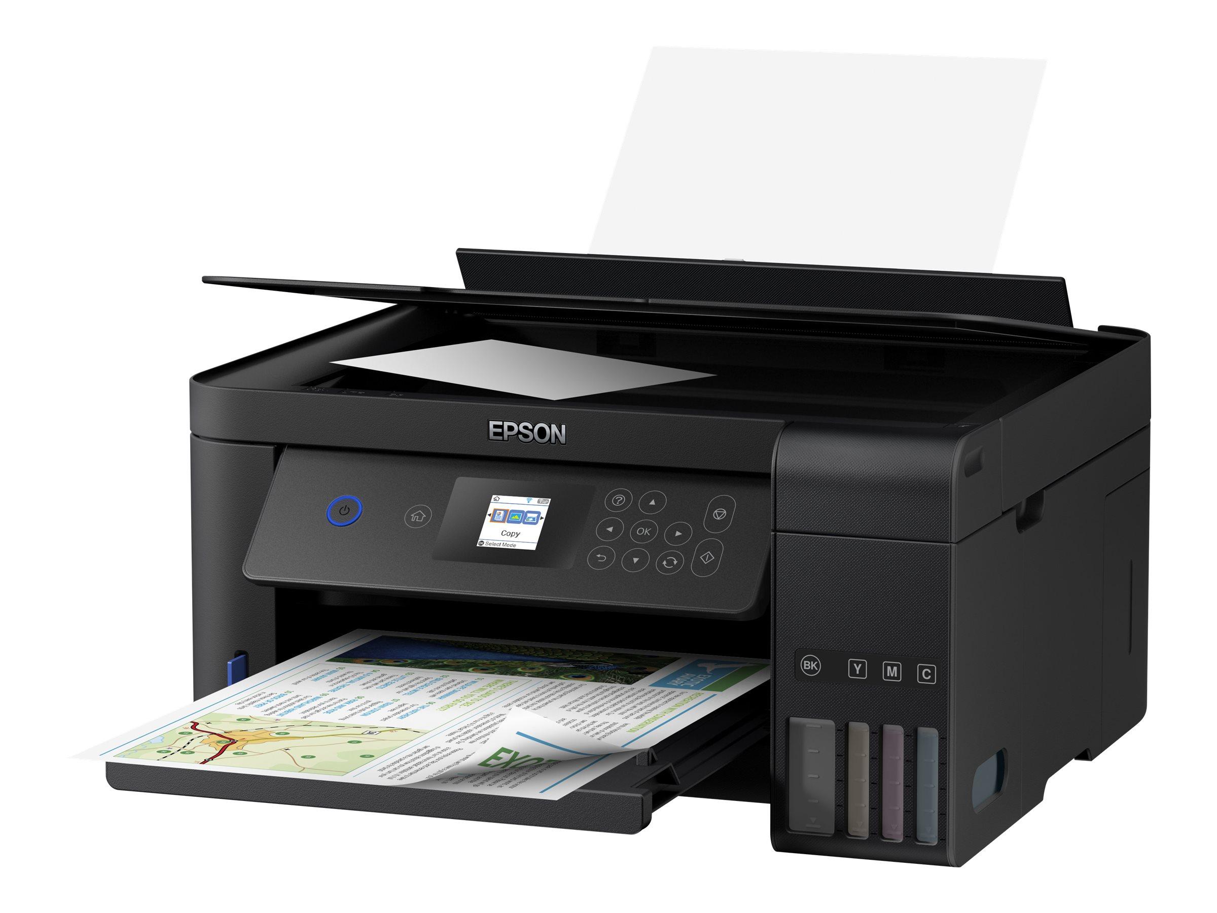 Epson EcoTank ET-2750 - Multifunktionsdrucker - Farbe - Tintenstrahl - Legal (216 x 356 mm)/
