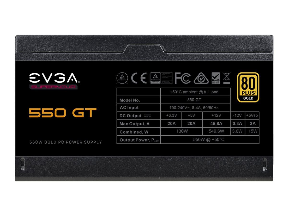 Vorschau: EVGA SuperNOVA 550 GT - Netzteil (intern) - ATX12V / EPS12V